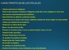 Características de las personas visuales #pnl