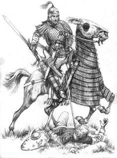 Pictish Warrior, Roman Sword, Medium Armor, Scottish Warrior, Roman Soldiers, Picts, Dark Ages, Roman Empire, Romans
