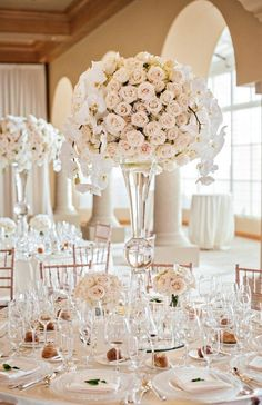 12 Stunning Wedding Centerpieces #centerpiece #centerpieceideas
