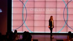 Monica Vila @TheOnlineMom Love how natural and compelling @ChelseaClinton is on stage -very inspiring #madewithcode pic.twitter.com/90lbnNVuWV