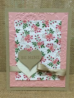 Stampin up. Blooming love. All Occasions 2016. Valentine's Day.