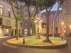 Les Illuminations de la place Furstenberg