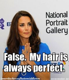 True or False? (The Inner Duchess of Kate Middleton)
