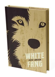 Beautiful redesigned cover for White Fang    The Heirloom Collection    Designed by The Book Designers
