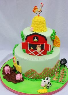 The farm cake