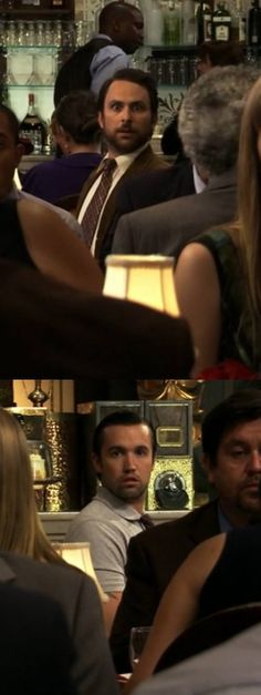 One of my favorite parts on It's always sunny in Philadelphia.