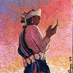 Tweeting the Dawn, Shonto Begay