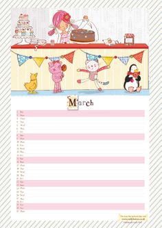 Download March's calendar page http://www.emilybutton.co.uk/news/2014/2/28/march-calendar-download