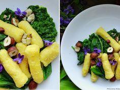 Delicious blog: Jáhelné šišky s omáčkou z medvědího česneku