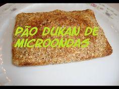 Pão de MICROONDAS Dukan - (Fase de Ataque)