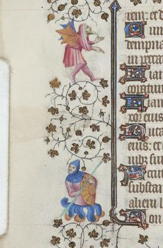 Book of Hours, MS M.919 fol. 39v - Images from Medieval and Renaissance Manuscripts - The Morgan Library & Museum