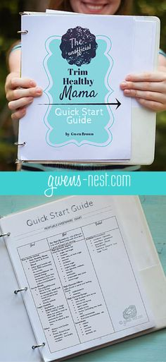 """This free Trim Healthy Mama Quick Start Guide has been called the """"Mac Daddy"""" of resources for starting THM."""