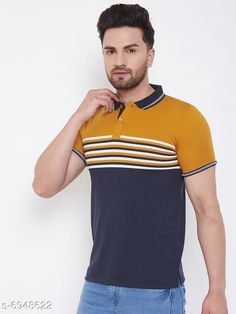 Tshirts New Stylish Men's Tshirt Fabric: Cotton Blend Sleeve Length: Long Sleeves Pattern: Solid Multipack: 1 Sizes: XXL (Chest Size: 46 in Length Size: 29 in)  XXXL (Chest Size: 48 in Length Size: 29.5 in) Country of Origin: India Sizes Available: S, M, L, XL, XXL, XXXL   Catalog Rating: ★4 (425)  Catalog Name: New Stylish Men's Tshirt CatalogID_1109565 C70-SC1205 Code: 713-6948622-927