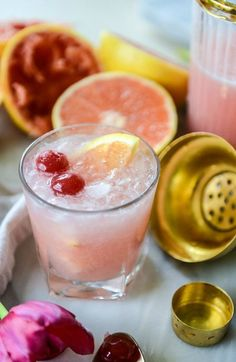 Cool off and chill out with these homemade Grapefruit Daiquiris. Sweet, crisp, and refreshing, these tasty cocktails are exactly what you�ll be wanting to sip on all spring.