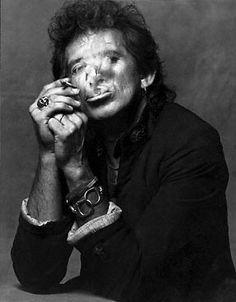Albert Watson.  Keith Richards  Rolling Stone, August 11, 1988