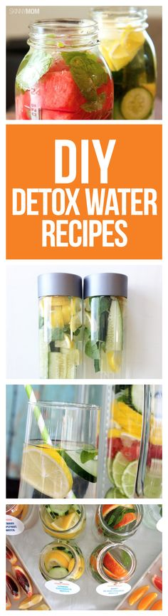 Make your own detox waters!