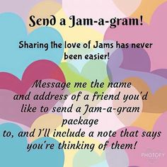 Valentine's Day Jam-a-Gram Send your favourite friend or secret crush a Jam-a-Gram for Valentine's Day for only $20!! What she gets: ❤️sheet of Valentine's Day Jamberry Nail Wrap ❤️nail file ❤️cuticle pusher ❤️orange stick ️❤️nail prep wipe ❤️personal note saying you're thinking of her How awesome is that!? Hurry and email me your friend's name and address at gmoonflowerjams@gmail.com, while supplies last!! #jamberry #jamberrynailwraps #manicure #nailart #nailswag #valentines #valentinesday…