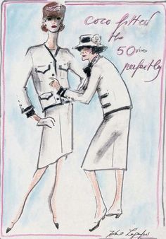 Chanel, by Karl Lagerfeld