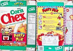 Chex+Cereal+Box | 1994 Corn Chex Cereal Box shm221