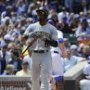Pirates place Marte on paternity list call up Hanson (Yahoo Sports)