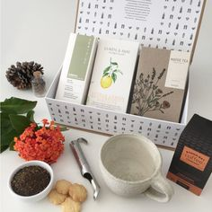 Tea gifts with organic tea and coffee plus hand made pottery mug. Mother's Day Activities, Gifts Delivered, Tea Gifts, Coffee Company, Gift Hampers, Pottery Mugs, Something To Do, How To Memorize Things, Organic