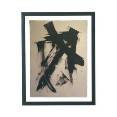 A one-of-a-kind monoprint, created by LA-based contemporary artist Anna Ullman.