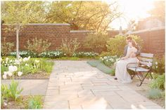 Sunset Fairy Tale Engagement Session | Mellon Park | Pittsburgh | Kelly Adrienne Photography