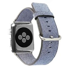 38/42mm Nylon Woven Canvas Sports Cool New Fashion Watch Strap for Apple Watch Band Bracelet 6 Color I85.