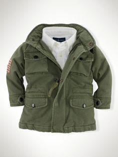 Cotton Flag Field Jacket
