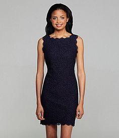Adrianna Papell Lace Dress | Dillards.com