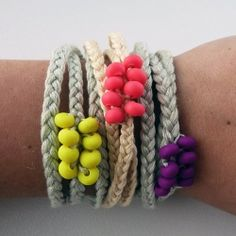 Neon + clay + friendship bracelets = the perfect summer accessory. Win a gift certificate to grab one of your own!