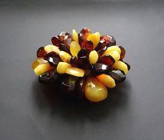 Baltic Amber Beautiful Pendant (Brooch). Original Design. Weight ~ 30 g.  #ET0219 Baltic Amber Beautiful Pendant (Brooch). Original Design. Weight ~ 30 g.  #ET0219 180,32 US$