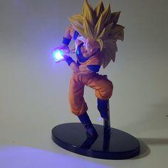 Dragon Ball Z Led Light Lamp Vegeta Super Saiyan Son Goku Luces Navidad Rare War