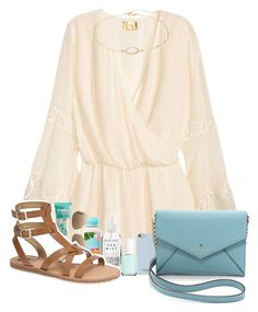 """""""Happy Easter!!"""" by allisonkelly1 ❤ liked on Polyvore featuring H&M, A Weathered Penny, Ray-Ban, Benefit, Sam Edelman, LC Lauren Conrad, Isaac Mizrahi, Kate Spade and Essie"""