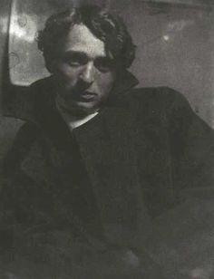 """Gertrude Kasebier, """"Portrait of Edward Steichen Wearing an Overcoat and Gloves"""", 1901."""