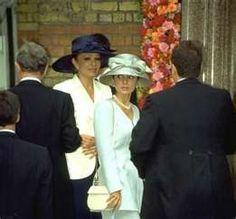 Farah Pahlavi and HIH Crown Princess Yasmine Pahlavi