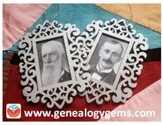 Easy Family History Craft: Framed Ornaments - Lisa Louise Cooke's Genealogy Gems