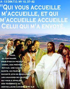 Parole -année liturgique A  (images et PAROLE): A - 13 DIM .T.O.