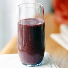 Blackberry-Mango Breakfast Shake | MyRecipes.com #myplate #fruit