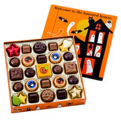 #Halloween Chocolate Box - Morozoff. Mmmm #chocolate PD
