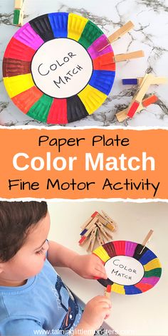 Color Activities For Toddlers, Toddler Fine Motor Activities, Childcare Activities, Quiet Time Activities, Preschool Colors, Motor Skills Activities, Preschool Learning Activities, Classroom Activities, Fine Motor Activity