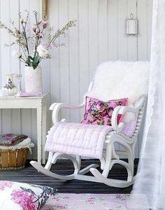 Poltrone A Dondolo Imbottite.Le Migliori 63 Immagini Di Sedie A Dondolo Rocking Chair Chair