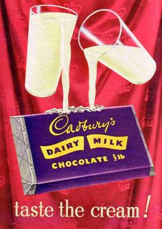 #Vintage Cadbury's Dairy Milk Chocolate ad in the 1990's. #trowbackthursday