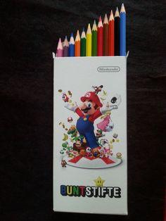 12 Nintendo Buntstifte