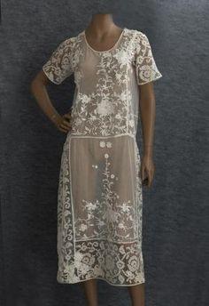 1920s tea dress by caitlin