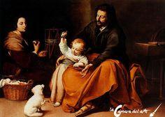 La Sagrada Familia del pajarito | La cámara del arte