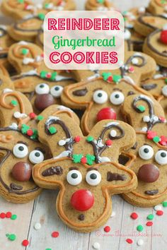13 Sweet Ways to Make the Most Famous Reindeer of All Reindeer Gingerbread Cookies