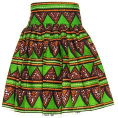 Fair+True New  Fairtrade Triangle Print Ruched Skirt ($76) ❤ liked on Polyvore featuring skirts, bottoms, african skirts, print skirt, gathered skirt, ruched skirt and pattern skirt