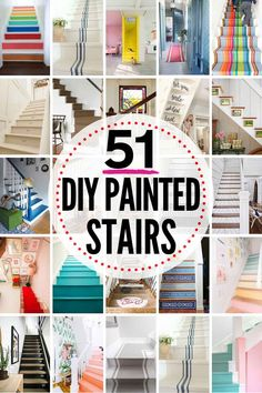 51 spectacular painted stairs projects painted projects spectacular stairs delivers online tools that help you to stay in control of your personal information and protect your online privacy. Garage Stairs, House Stairs, Staircase Makeover, Staircase Ideas, Staircase Design, Best Decor, Painted Stairs, Painted Floors, Painted Wood