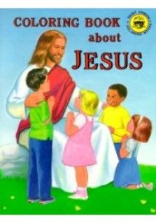 SJ ALL ABOUT JESUS COLOURING: Christian children's activity book teaching children about Jesus and His life.
